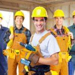 Stavebný pracovník pre rekonštrukcie bytov .
